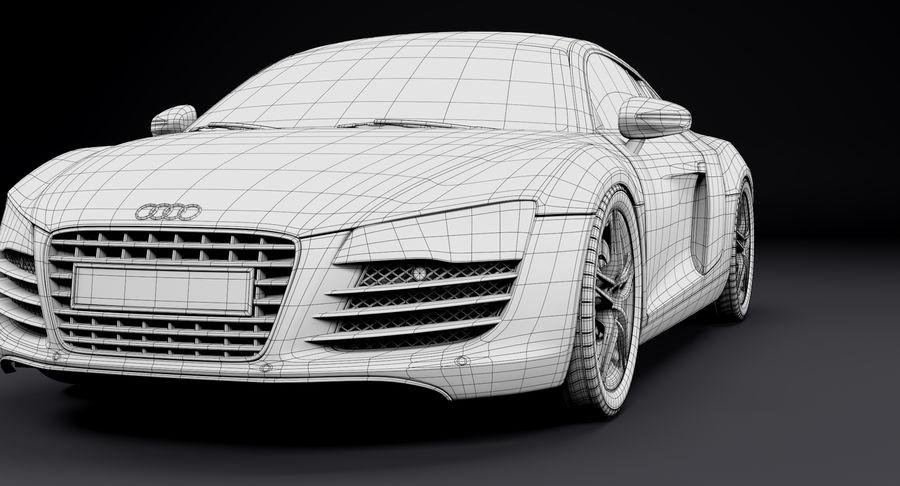 Audi R8 royalty-free 3d model - Preview no. 33