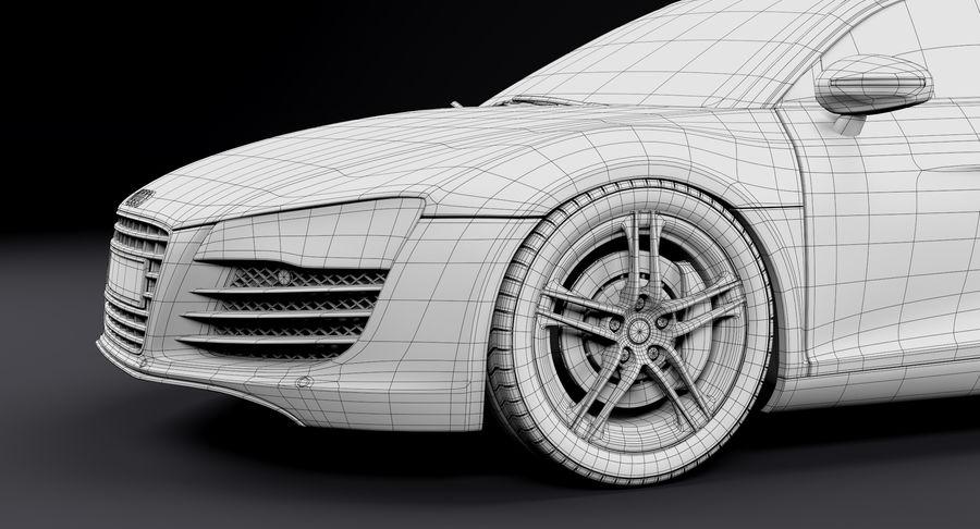 Audi R8 royalty-free 3d model - Preview no. 34