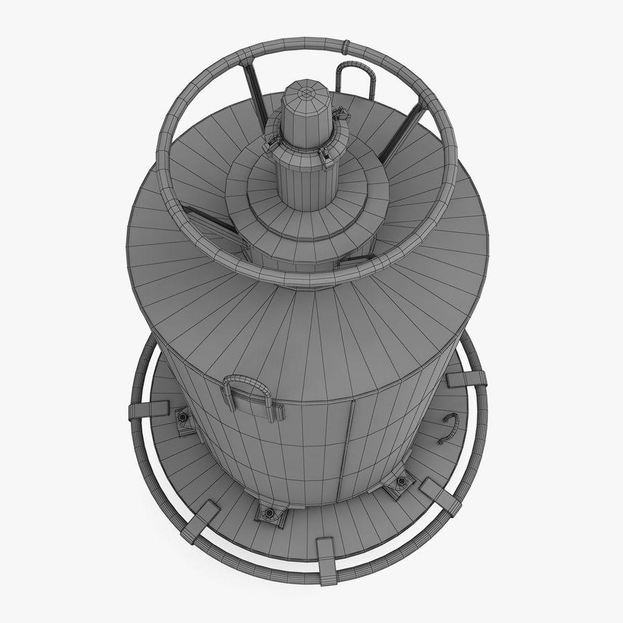 буй royalty-free 3d model - Preview no. 9