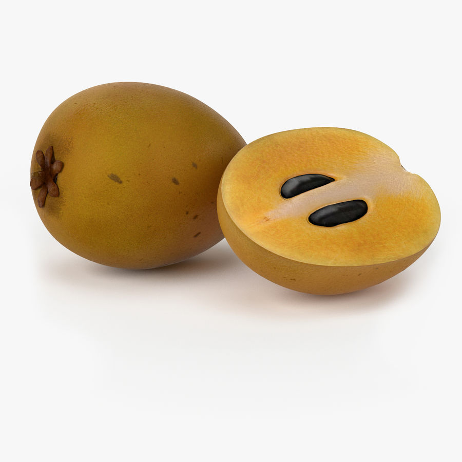 NICEMODELS Том 5 - Экзотические фрукты royalty-free 3d model - Preview no. 20