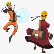 Naruto Shippuden manipuliert 3d model