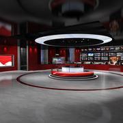 Virtual Studio News 2 3d model