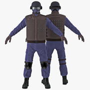 Mundur SWAT 3d model