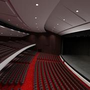 Концертный зал 3d model