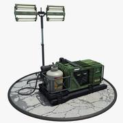 照明装置 3d model