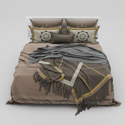 Bed collection 40 3d model
