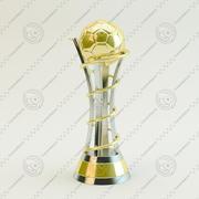 Trophy Cup Zukunft 3d model