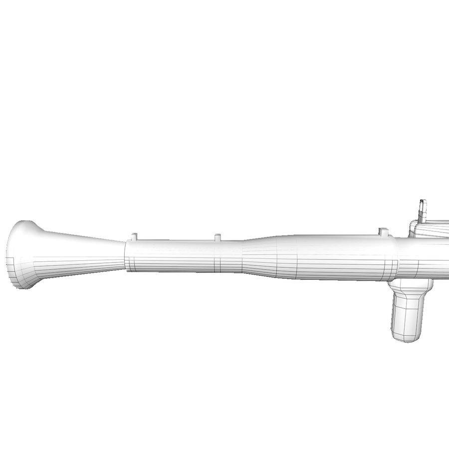 rpg-7 royalty-free 3d model - Preview no. 4