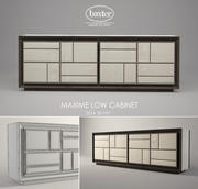 Armário baixo Baxter Maxime 3d model