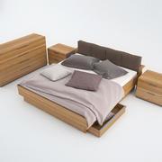 Conjunto Dormitorio Loddenkemper Máxima naturaleza modelo 3d