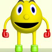 Smiley Face Character 3d model