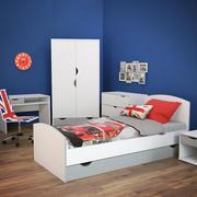 комплект мебели для детской комнаты 3d model