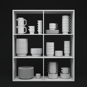 Service de vaisselle en porcelaine TC 100 3d model