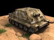 Autocisterna dell'esercito 3d model