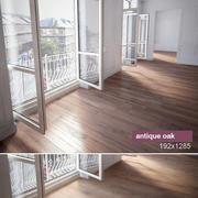 橡木地板 3d model