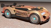 Super Racing Car 3d model