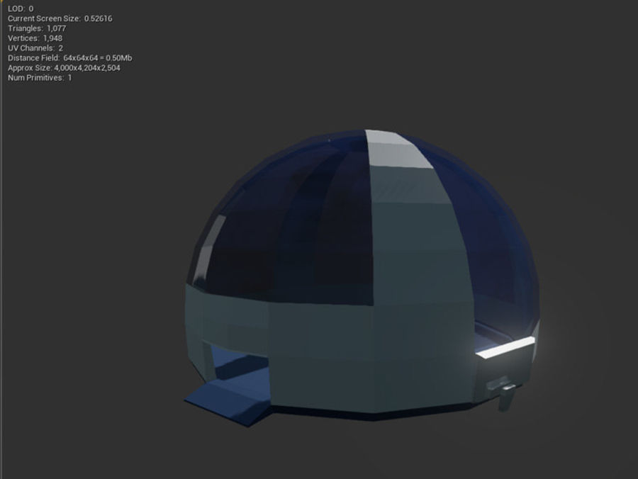 Biosphere Facility royalty-free 3d model - Preview no. 3