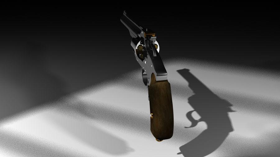 Colt Revolver Gun royalty-free 3d model - Preview no. 6