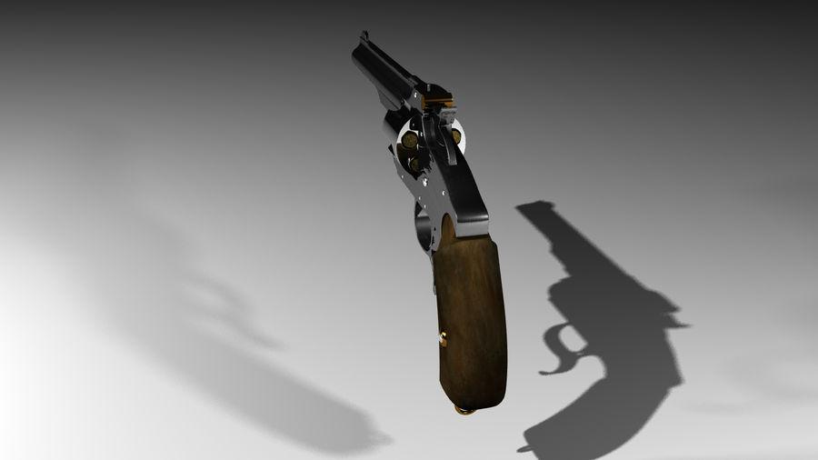 Colt Revolver Gun royalty-free 3d model - Preview no. 5