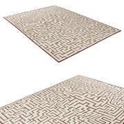 Współczesny dywan 3d model