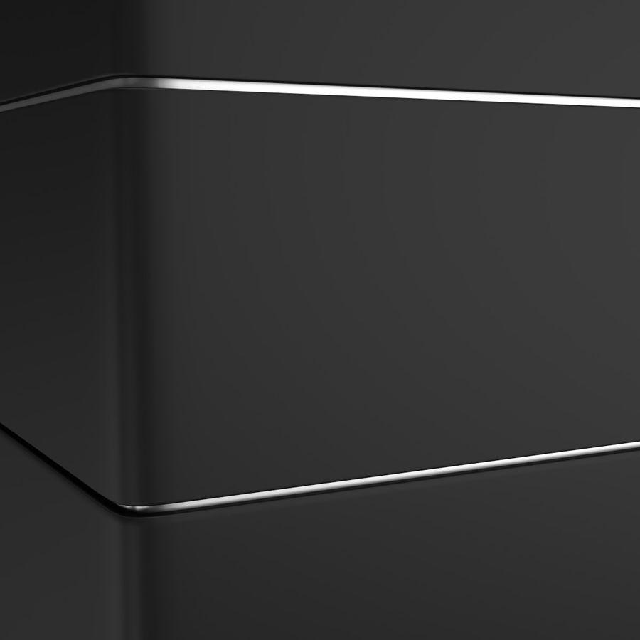 Lavello e rubinetto della cucina royalty-free 3d model - Preview no. 9