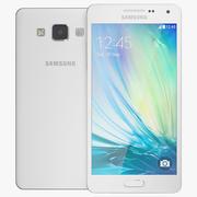 Samsung Galaxy A5 White 3d model