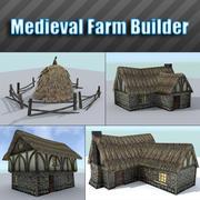 Costruttore agricolo medievale 3d model