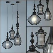 Lampe Design Moderne 3d model