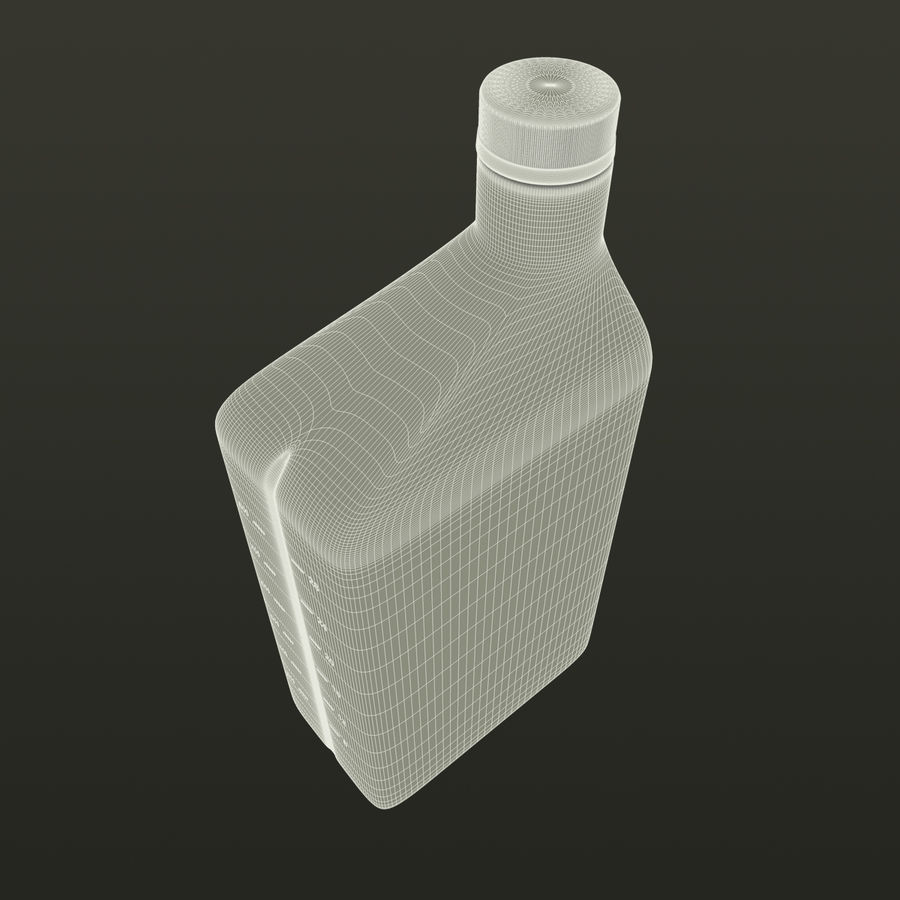 Oil Bottle royalty-free 3d model - Preview no. 8