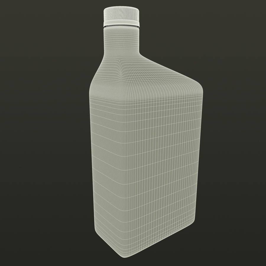 Oil Bottle royalty-free 3d model - Preview no. 11