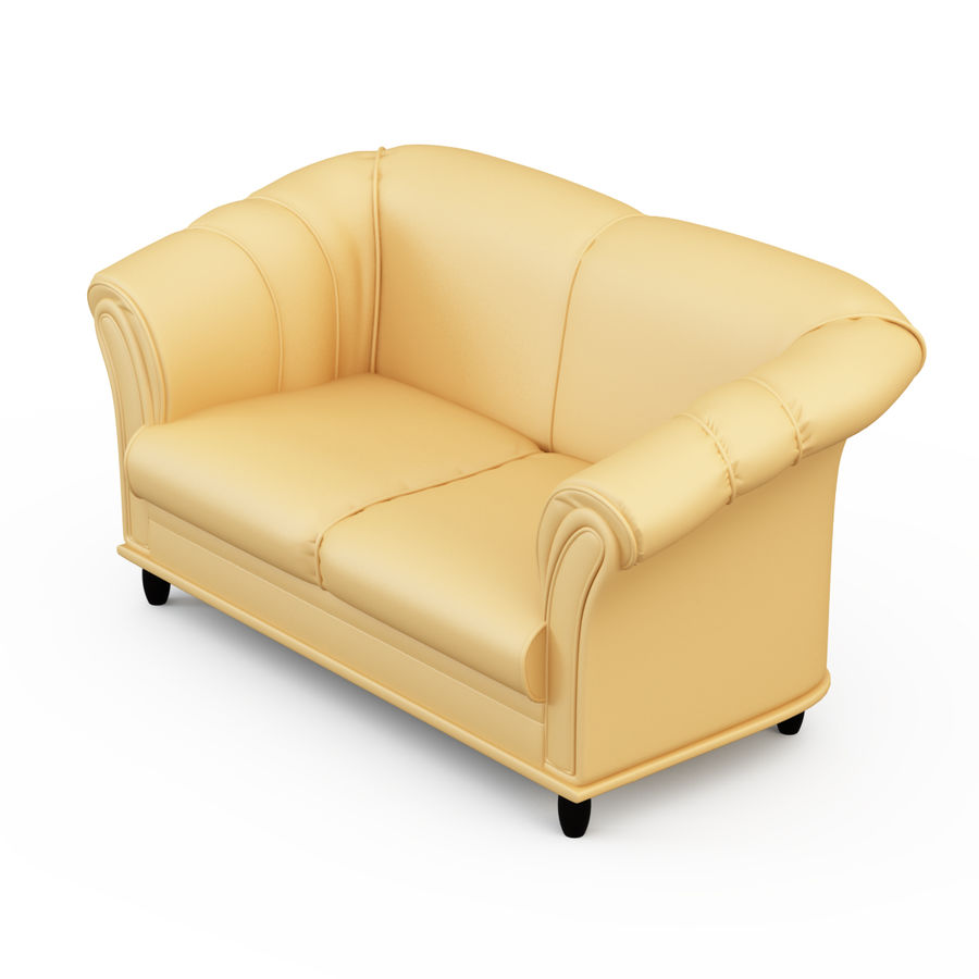 Sofa Neo royalty-free 3d model - Preview no. 2