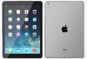 Apple iPad Air Space Gray 3d model
