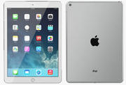 Apple iPad Air 2 Silber 3d model