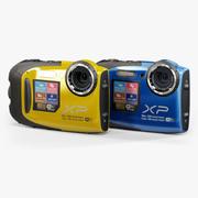 Fujifilm FinePix XP70坚固耐用的数码相机 3d model