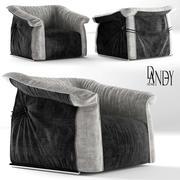 chair dandy home Limousine 3d model