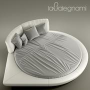 Bed La Falegnami Time 3d model