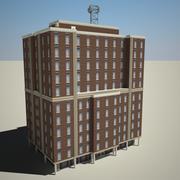Byggnad 15 3d model
