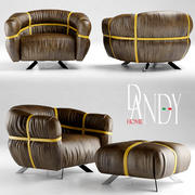 chair gamma dandy home CROSSOVER 3d model