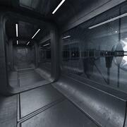 Scène de mathématiques de science-fiction 3d model