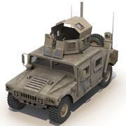 HMMWVハマーVRay 3d model