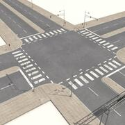 Straten Road Collection 3d model