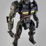 ES士兵头2 3d model