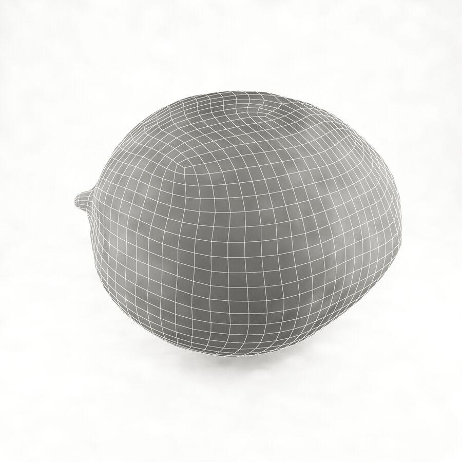 水果碗 royalty-free 3d model - Preview no. 17