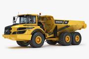 Gelede vrachtwagen VOLVO A25G 3d model