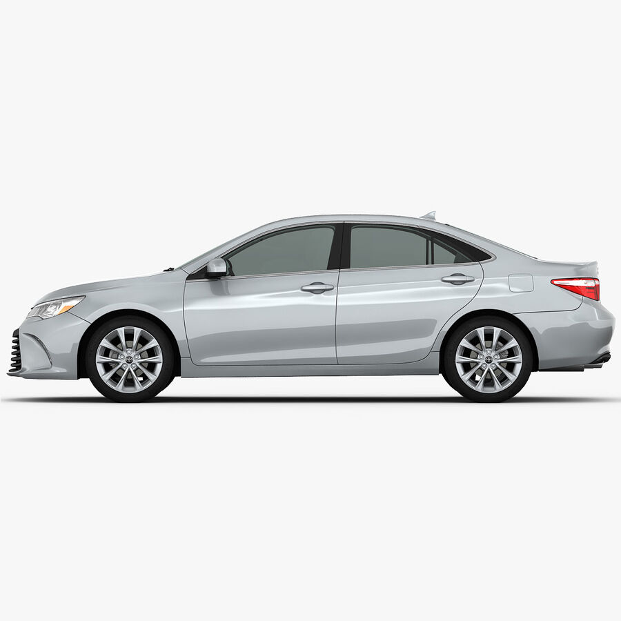 Toyota Camry XLE 2015 royalty-free 3d model - Preview no. 14