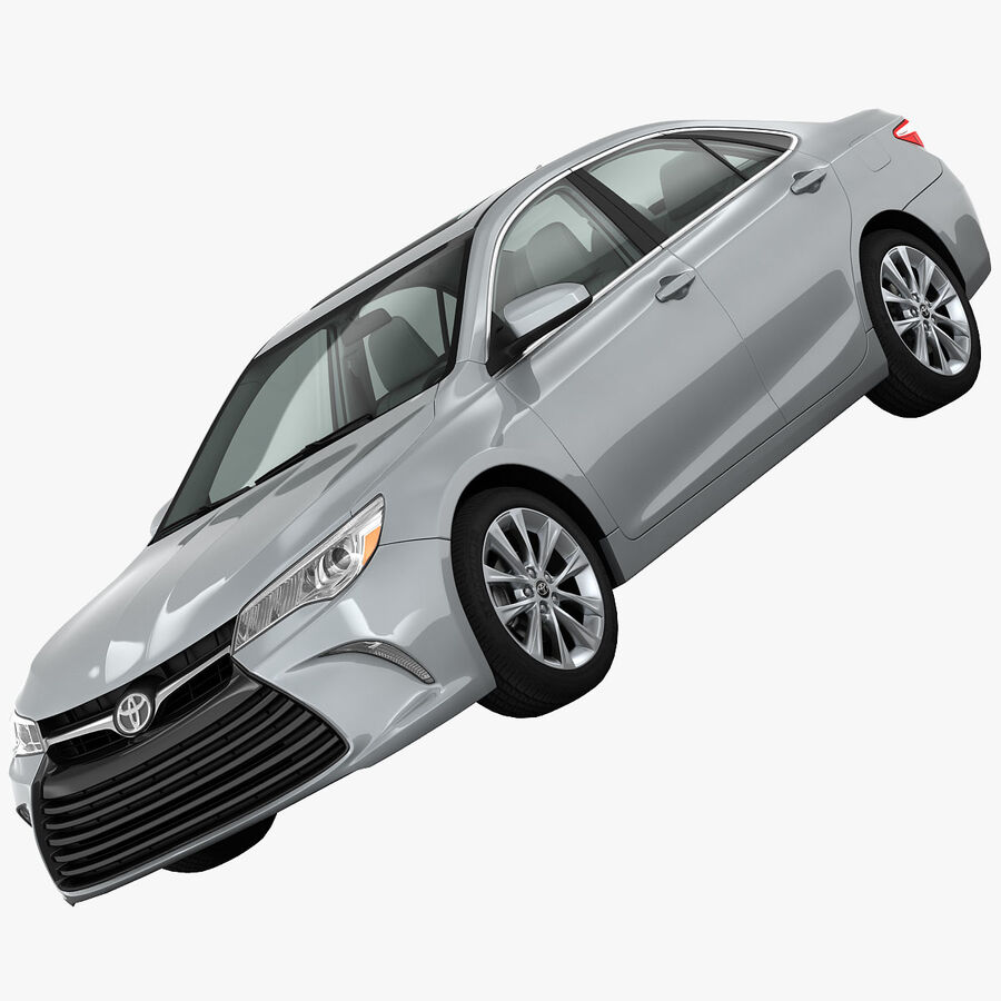 Toyota Camry XLE 2015 royalty-free 3d model - Preview no. 1