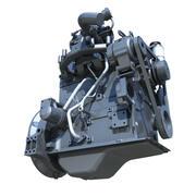 cummins engine B3.3 3d model