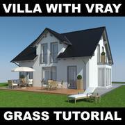 Tutoriel Villa Grass 6 3d model