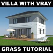 Tutoriel Villa Grass 5 3d model