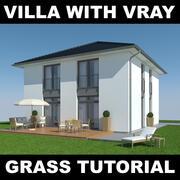 Tutoriel Villa Grass 3 3d model